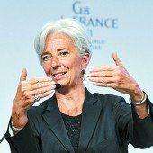 Lagarde lässt Juncker Vortritt