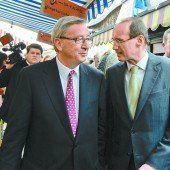 Für Karas kommt nur Juncker infrage