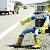 Roboter HitchBot trampt durch Kanada