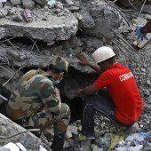 Drei Tage unter den Trümmern überlebt