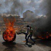 Aufschrei gegen Israel