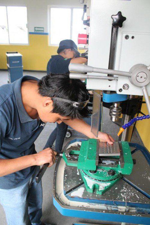 Alpla produziert in 140 Ländern vor Ort. Die erfolgreiche österreichische Lehre wird von Alpla exportiert, z. B. nach Mexiko. Foto: Alpla
