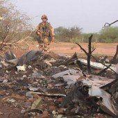 Keine Überlebenden bei Absturz über Mali