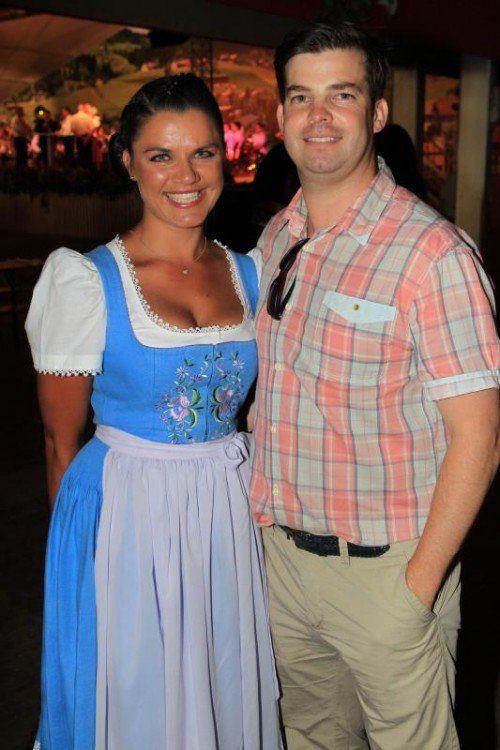 Annette Geser und IV-GF Mathias Burtscher. Fotos: AME
