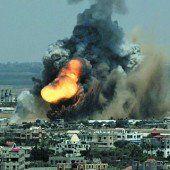 Luftkrieg gegen Hamas