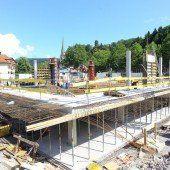 Projekt Novale: Untergeschoß fertig