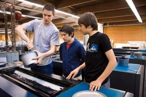 Bei der Initiative Zukunfts.Lust bekommen Schüler einen direkten Einblick in verschiedene Lustenauer Unternehmen. Foto: gemeinde