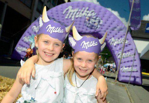 Beim Schokofest wird ganz Bludenz in lila gehüllt sein.    VN/Stiplovsek, Veranstalter