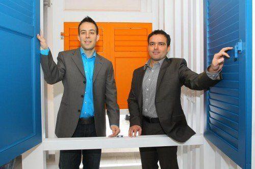 Betriebsleiter und Prokurist Martin Bawart (l.) und der ehemalige Geschäftsführer Matthias Klaudrat.  Foto: VN/Hofmeister