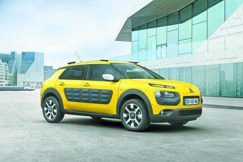 Citroën C4 Cactus: Die VN sind die witzig-originelle Alternative zu den herkömmlichen Kompaktlimousinen bereits gefahren. Fotos: werk