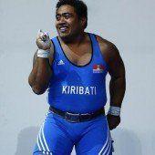 Gewichtheber holt für Kiribati erste Medaille