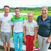 Drei dritte Plätze für den Golf-Nachwuchs