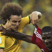 Erst stark, doch Brasilien musste dann noch zittern
