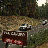 Waldbrände bedrohen Yosemite-Nationalpark