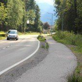 Radwegteilstück im Garox wird verbreitert