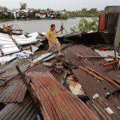Taifun wütet über den Philippinen: 25 Tote