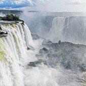 Das UNESCO-Welterbe Iguazú-Wasserfälle