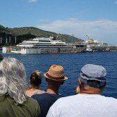 Abtransport der Costa Concordia beginnt