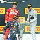 Ricciardo düpierte Mercedes