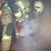 Brandalarm im Gasthof Schäfle