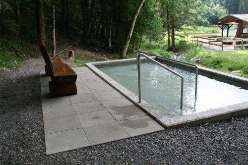 Die Schnifner Wassertrete wurde runderneuert.  Foto: Gemeinde
