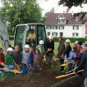 Spatenstich für neue Schule in Lauterach