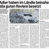 Knatternde Hubschrauber stören Ländle-Adler
