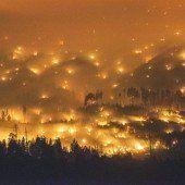 Feuerwehr im Kampf gegen Waldbrände