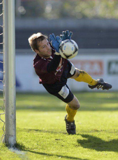 Dominik Seiwald wird in der neuen Saison das Tor des FC Dornbirn hüten. Foto: stiplovsek