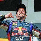 Triumph von Ricciardo