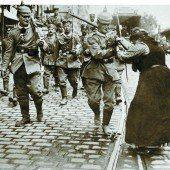 Heute vor 100 Jahren begann der Erste Weltkrieg