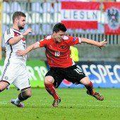 Österreich verlor 0:4