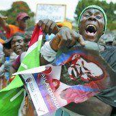 Kenianer protestieren gegen ihren Präsidenten