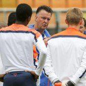 Louis van Geenial vor schwerster WM-Aufgabe