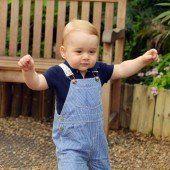 Prince George hat den Laufdreh raus