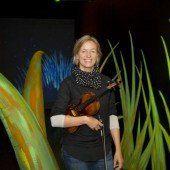 Sie spielt die erste Geige