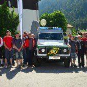 Neues Fahrzeug für Bergrettung Klösterle