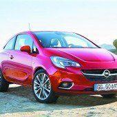 Opel fährt den nächsten Corsa vor
