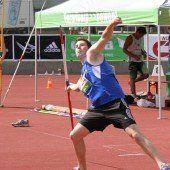Felix Rümmele holte sich Gold im Speerwurf