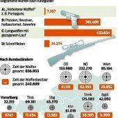 22.315 Waffen gibt es im Land