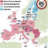 Deutschland will Maut für Ausländer ab 2016