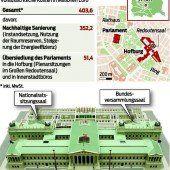 Eigenes Gesetz für die Parlamentssanierung