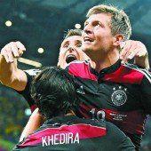 Deutschland mit historischem 7:1-Halbfinalsieg über Brasilien