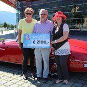 Oldtimer fuhren 2100 Euro für Ma hilft ein