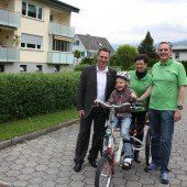 Ein spezielles Fahrrad für Leonie