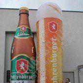 Zehn Kisten Bier Finderlohn