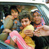 Panische Flucht aus Gaza-Stadt