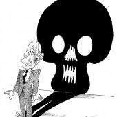 Putins Schatten!