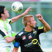 Test gegen Wolfsburg