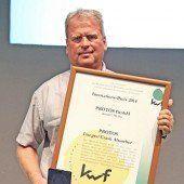 Pfanner erhält KWF-Innovationspreis 2014